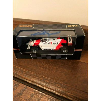 Autographed Signed Indycars Collection '94 Paul Tracy #3 Penske Onyx Model Cars