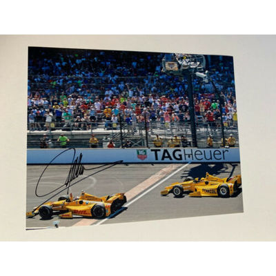 Ryan Hunter-Reay Signed Indianapolis 500 Indy Car 8 X 10 Photo 2014