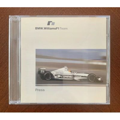 2000 BMW Williams F1 Formula One Press Media Kit CD