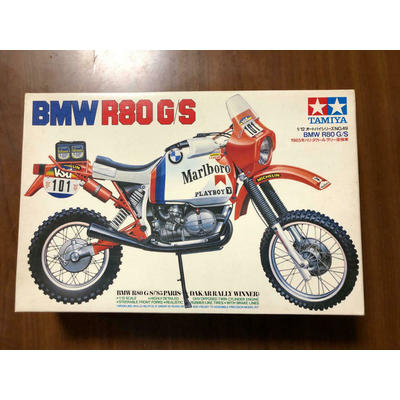 Tamiya 1/12 Bmw R80 G/S 1985 Paris Dakar Rally Winning Car Plastic model NEW