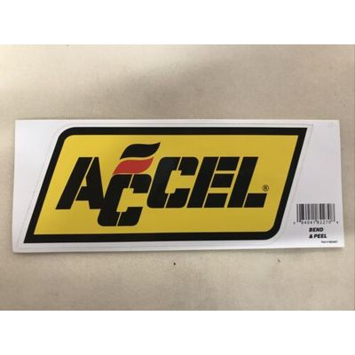 "Accel Drag Racing NASCAR ARCA SCORE Sticker Decal 9"" X 3 7/8"""