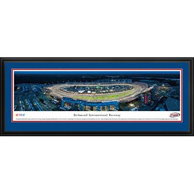 Richmond International Raceway – Blakeway Panoramas NASCAR Posters with Deluxe Frame