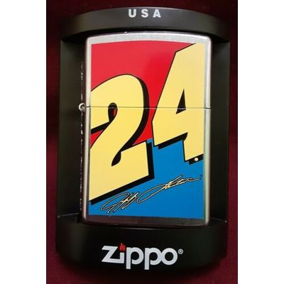 "NASCAR 2004 Jeff Gordon ""24"" Zippo Lighter New In Box"