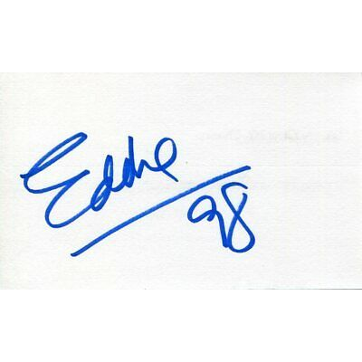 Eddie Cheever Formula One Cart Indy Indianapolis 500 Winner Signed Autograph