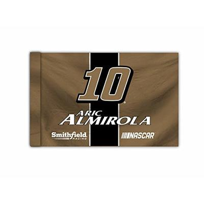 R and R Imports NASCAR Driver Flag-Aric Almirola #10 Outdoor/Indoor 3'x5′ Flag