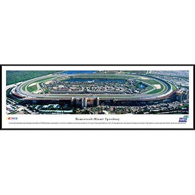 Homestead-Miami Speedway – Blakeway Panoramas NASCAR Posters with Standard Frame