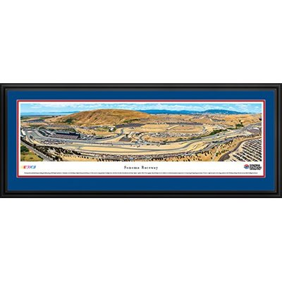 Sonoma Raceway – Blakeway Panoramas NASCAR Posters with Deluxe Frame