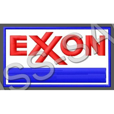 EXXON PATCH OIL PUMP GAS STATION CAR MOTORCYCLE RACING MOTO GP FORMULA1 RALLY #2
